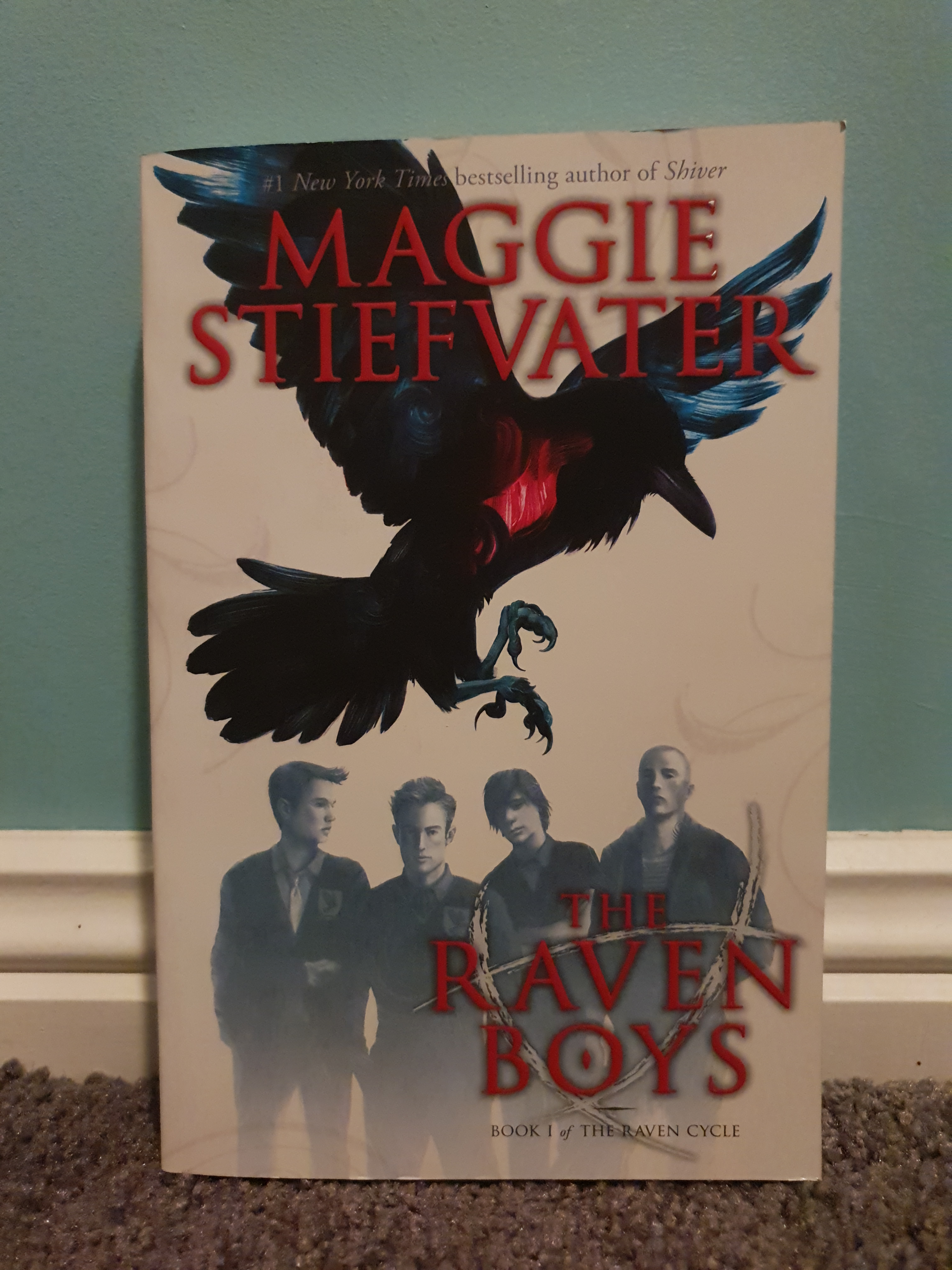 Raven Boys by Maggie Stiefvater