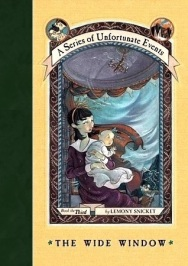 The Wide Window by Lemony Snickett